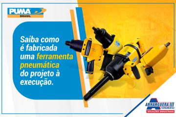 Como funciona o processo de fabricação de uma ferramenta pneumatica?